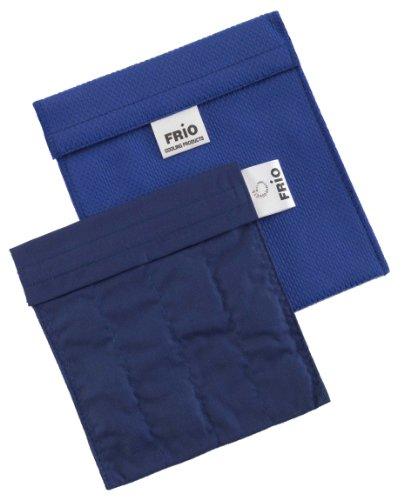 FRIO KLEIN Kühltasche für Insulin, 14 x 15cm, Blau-KEIN Eispack oder Batterien nötig, für eine Kombinationen von Ampullen oder Patronen, KEIN Pen