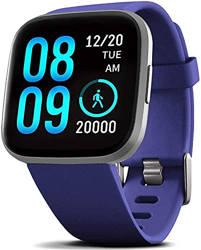 FITVII Smart Watch, Fitness Tracker with Heart Rate Monitor,...
