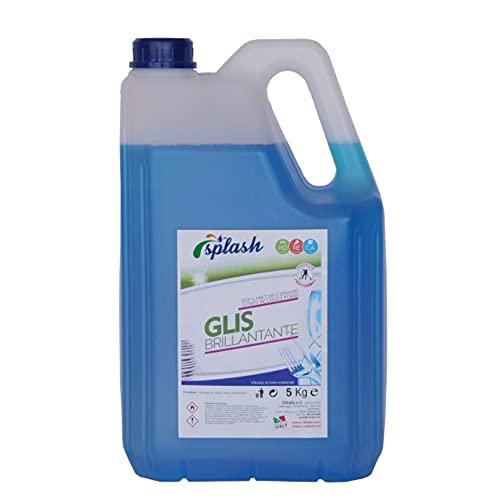 EVOM ABRILLANTADOR GLIS - ABRILLANTADOR para LAVAVAJILLAS Industrial 5Kg - Pack de 4