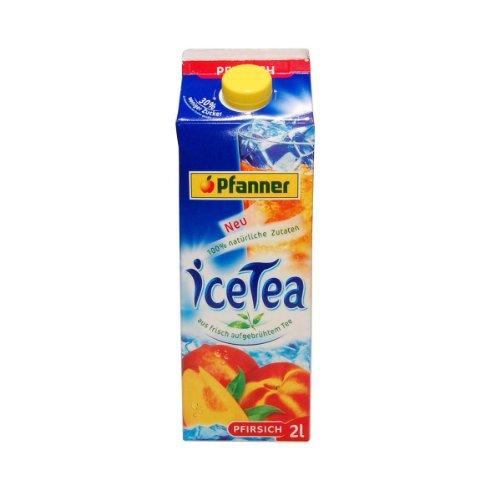 Pfanner Eistee Pfirsich - 1 x 2000 ml