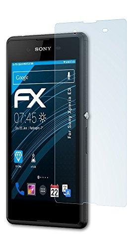 atFolix Schutzfolie kompatibel mit Sony Xperia E3 Folie, ultraklare FX Bildschirmschutzfolie (3X)