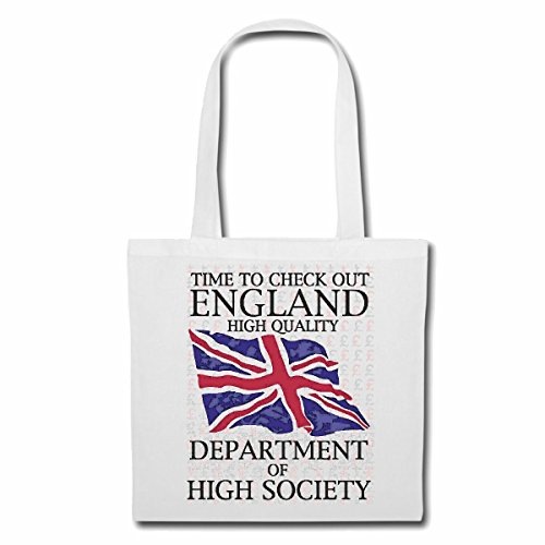 Tasche Umhängetasche TIME to Check Out England Department of Hight Society New York City Amerika California USA Route 66 BIKERSHIRT NY Motorcycle NYC Liberty VEREINIGTE Staaten Bronx Brooklyn LOS AN
