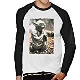 Star Wars Yodas Hut Men's Baseball Long Sleeved T-Shirt