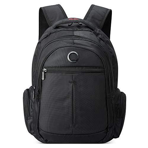 DELSEY Paris Flier Laptop Backpack, Black, 15.6' Sleeve