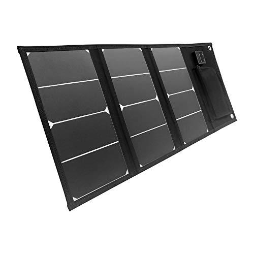 Litionite Arun 20W : panneau solaire pliable, 2 ports USB