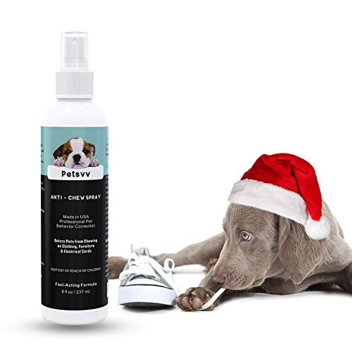 Anti Chew Spray Deterrent for Dogs, No Chew Spray Pet Training Corrector to Stop Biting Non-Toxic...