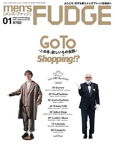 men's FUDGE - メンズ ファッジ - 2021年 1月号 Vol.128