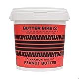 Butter Bike Co Mantequilla de cacahuete pequeño   Hecho en Devon   Sin aceite de palma   Todo natural (canela, pasa, 1 kg)