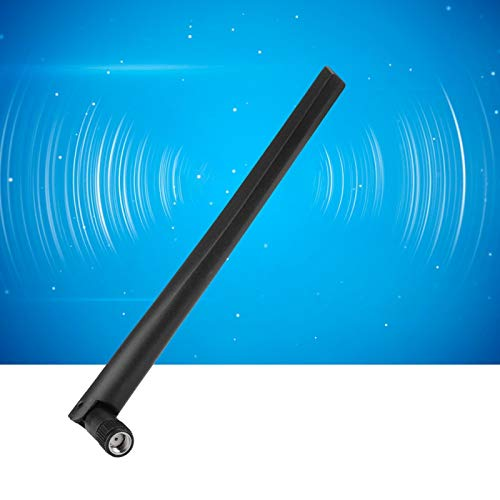 Socobeta Antena Portátil Pequeño Rendimiento Estable Gran reemplazo Ligero para LAN inalámbrica