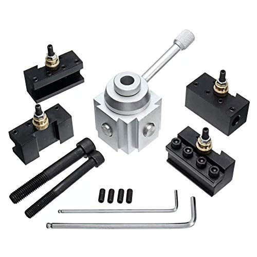 DXX-HR Torno Mini herramienta de cambio rápido soporte de poste de aleación de aluminio titular Torno herramienta