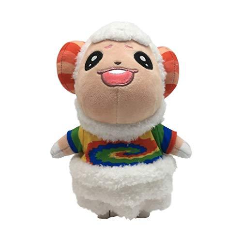 """kelee Animal Crossing New Leaf 8"""" Celeste Brewster Dj K.k Fauna Isabelle Kicks Tom Nook Plush Doll (Dom)"""