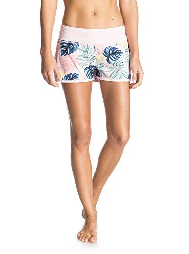 Roxy Damen Badeshorts Endless Sum2 P J Bdsh, Beach Palm Combo Rose Shadow, XL