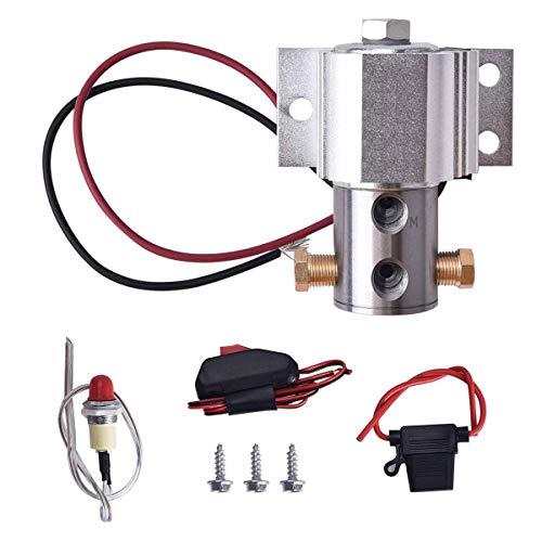 BDFHYK Line Lock Roll Control Electric Brake Line Lock Kit Silver