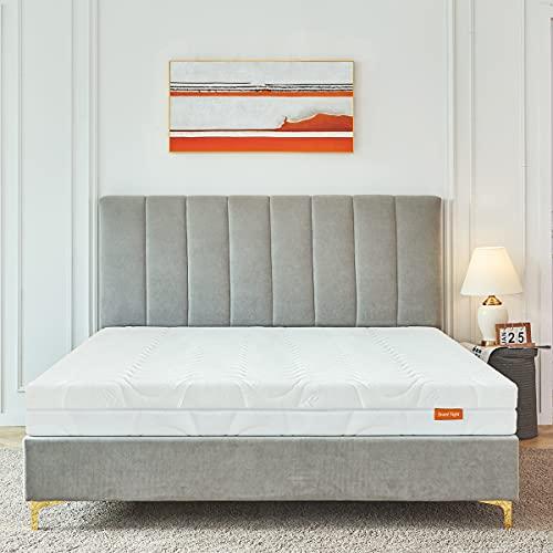 Sweetnight Matratze Orthopädische Kaltschaummatratze Höhe 18 cm Härtegrad H3-H4, Matratze 140x200, weiß