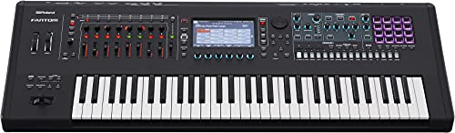 Roland FANTOM-6 Music Workstation 61-key Semi-weighted Synthesizer Keyboard