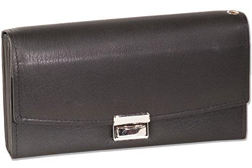 Rimbaldi - professionale camerieri borse con portamonete appositamente rinforzato fatto di non trattata, morbida pelle in nero