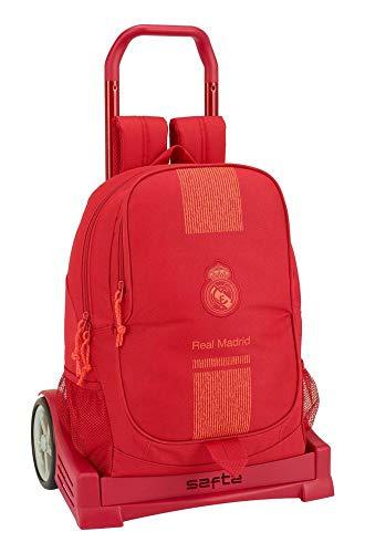 Real Madrid CF ST611957860 Trolley  Unisex niños  Rojo  Talla Única