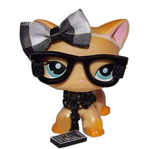 Custom NERD LOT clothes for Littlest Pet Shop cat toy / accessories for LPS CAT/DOGCAT/DOG NOT INCLUDED