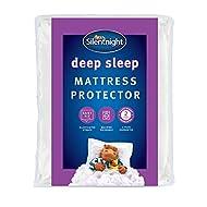 Silentnight Deep Sleep Mattress Protector, Super-King, White, 183cm x 203cm