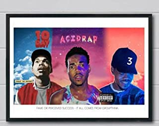 BY ultimate poster Chance the Rapper Acid Rap Poster Print (12 inch X 18 inch, Rolled)
