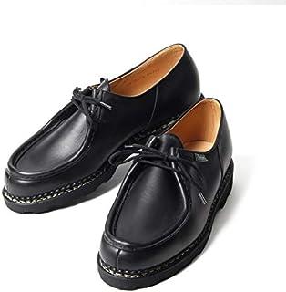 [パラブーツ] ミカエル MICHAEL チロリアン レザーシューズ 革靴 ノワール Lisse Noir ブラック BLACK 715604 メンズ [並行輸入品]