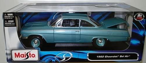 1962 Chevrolet Bel Air Blue Maisto 1:18 Die Cast