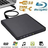External Blu-Ray Drive Biscon USB3.0 Blue-ray BD-RW DVD/CD Burner Player Writer for Mac