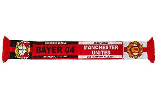 Bayer 04 Leverkusen Schal - Fanschal - Begegnungsschal Manchester United