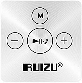 Ruizu X15 16GB Bluetooth 4.2 Lossless HiFi Sport MP3 Music Player with Back Clip Handsfree Phone Call - White