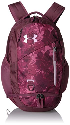 Under Armour Adult Hustle 4.0 Backpack , Pace Pink (669)/Pink Fog , One Size