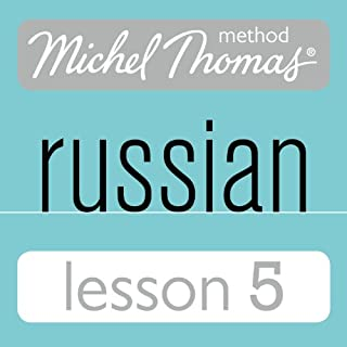 Couverture de Michel Thomas Beginner Russian, Lesson 5