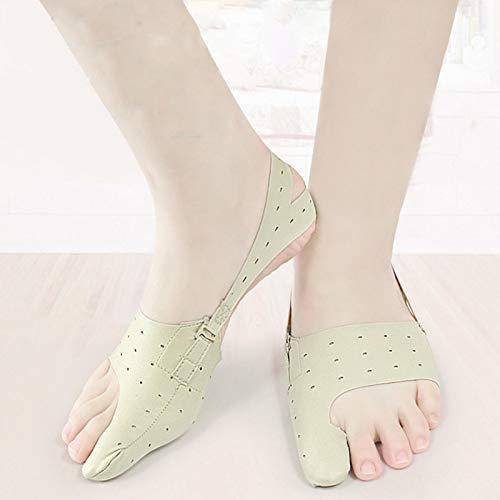 Cómodo Corrector de pies Tamaño pequeño Alivio del dolor de juanetes Duradero, enderezado en valgo, correcto