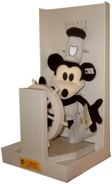Steiff STEAMBOAT WILLIE schwarz 22cm LED 10000 in 1999 Disbney Showcase Collection Verpackung beschdigt STEIFF 651472