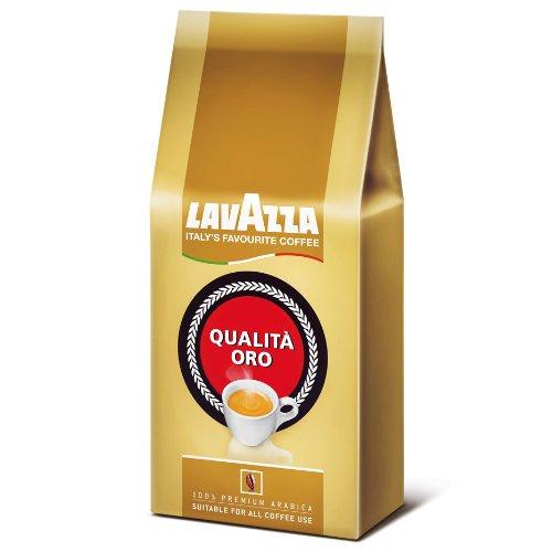 Lavazza - Caffè espresso in grani Qualità Oro - Rotondo e aromatico - 250 gr