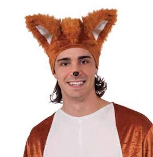 Forum Unisex-Adult's Fox Costume Hat, One Size