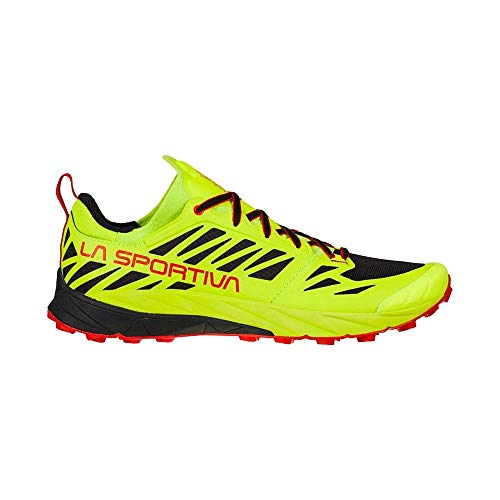 LA SPORTIVA Kaptiva, Zapatillas de Trail Running Hombre, Neon/Goji, 42.5 EU