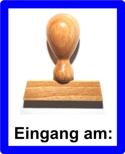 LE-ONs® Holzstempel Professional-Serie L21: Eingang am: