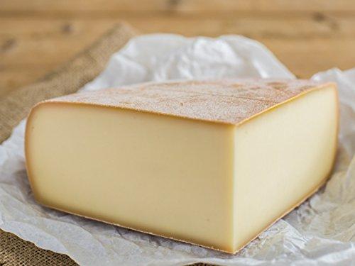 RACLETTE KÄSE - AKTION: Schweizer Raclettekäse 'RACLETTE SWISS' als 1/4 (viertel) Käse Laib 1,2 kg - VAKUUMVERPACKT - Laktosefrei - Vegetarisches Lab - Aus bester Sommermilch