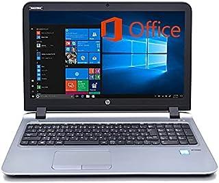 【MS Office 2019&Win10】HP ProBook 450 G3 第6世代Core i5 /メモリ8GB/SSD512GB/Webカメラ内蔵/15.6インチ/DVDマルチ (SSD512GB) (整備済み品)