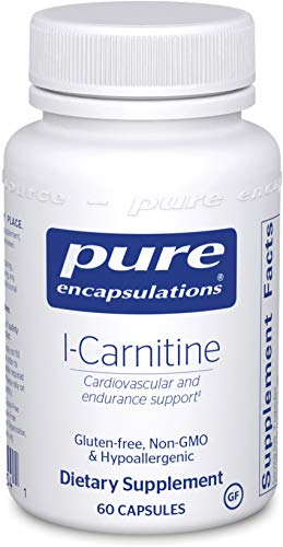 Pure Encapsulations - L-Carnitine - Hypoallergenic Supplement for Cardiovascular and Endurance Support - 60 Capsules