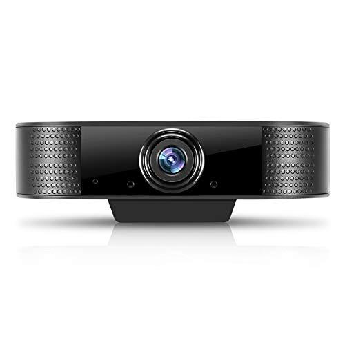 HOBFU Webcam, HD 1080P Webcam wi...