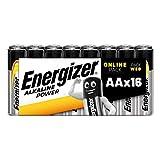 Energizer - Pilas alcalinas AA, 16 unidades