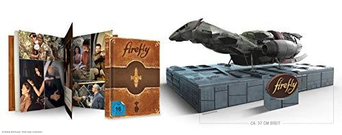 Firefly - limitierte Sammleredition mit Büste und Mediabook (exklusiv bei amazon.de) [Blu-ray]