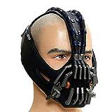 The Dark Knight Rises Bane Mask Gun Metal Color Version Bane Brown