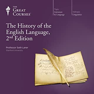 The History of the English Language, 2nd Edition audiobook cover art
