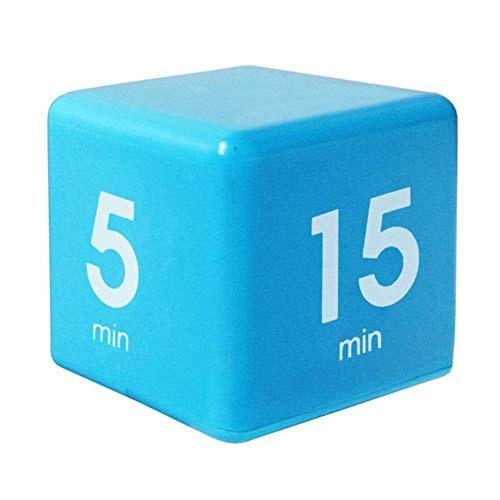huxa Cute Kitchen Timer Cubo de gestión de tiempo digital The Miracle Temporizador multifuncional 15/5/30/60 Minutos Temporizador de entrenamiento para niños