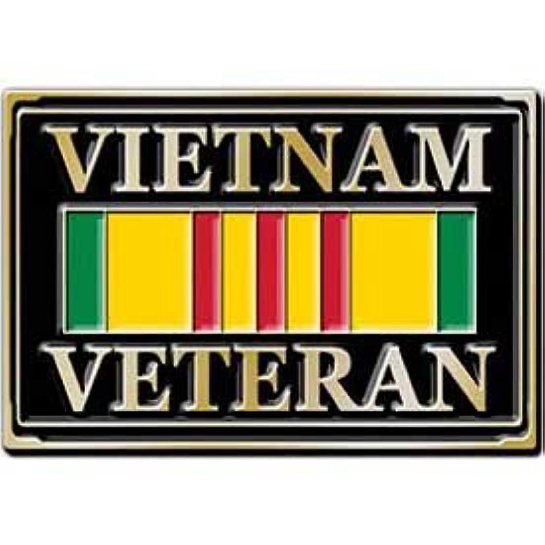 Vietnam Veteran Service Ribbon Belt Buckle