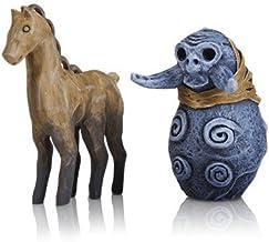 "God of War 2"" Horse & Troll Carvings Stone Mason Edition PS4 Playstation 4"