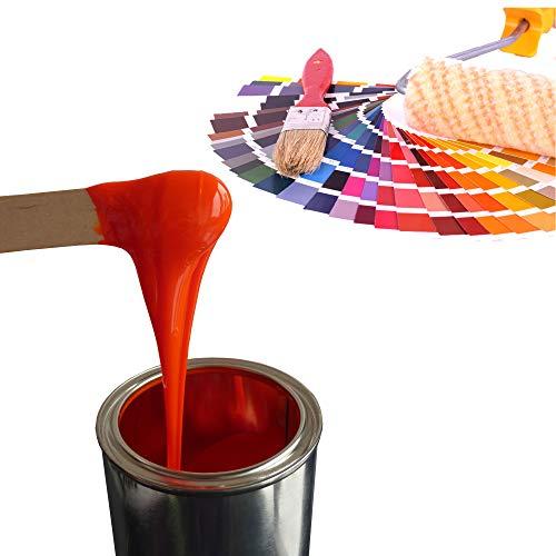 Epoxidharz Farbe 350g | Deckende Farbpaste für Giessharz | Einfärben von Epoxid-Harz, verschiedene RAL-Farben für z.B. Rivertable, Bastelarbeiten, Modellbau uvm. | Himmelblau - RAL5015