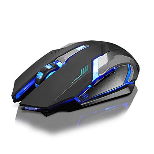 Liefde lamp Muizen USB Oplaadbare X7 Draadloze Optische Ergonomische Gaming Mouse LED Backlight Gaming Muizen